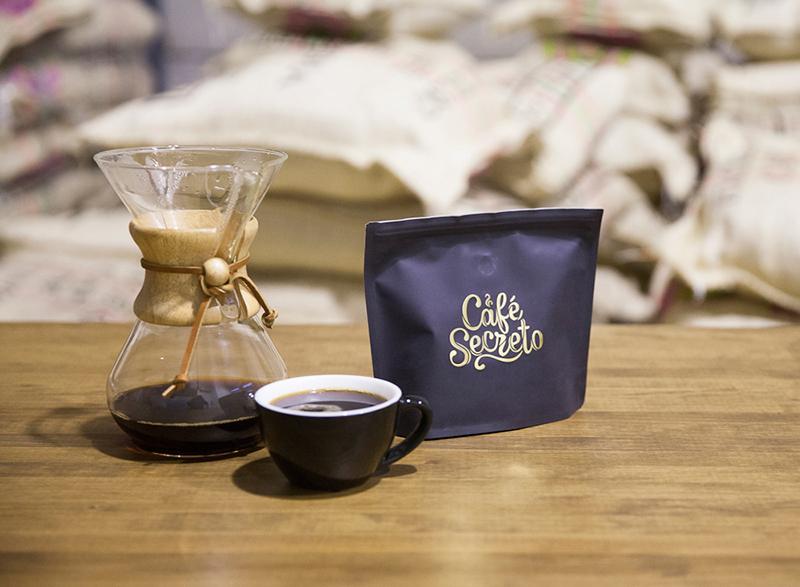 café de especialidad y v60
