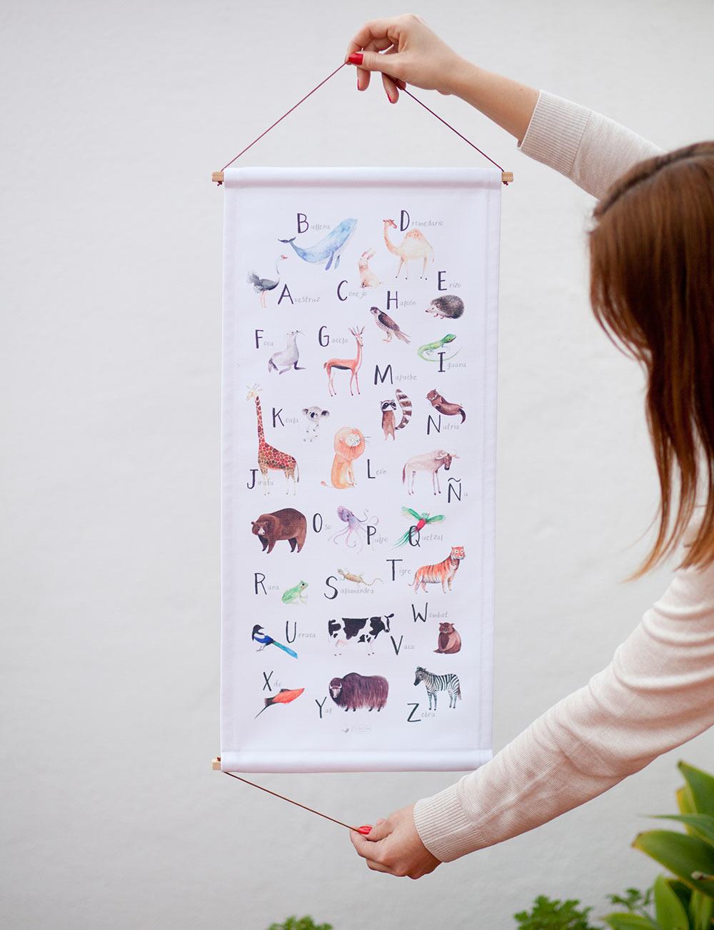 abecedario ilustración Cecilia Plaza