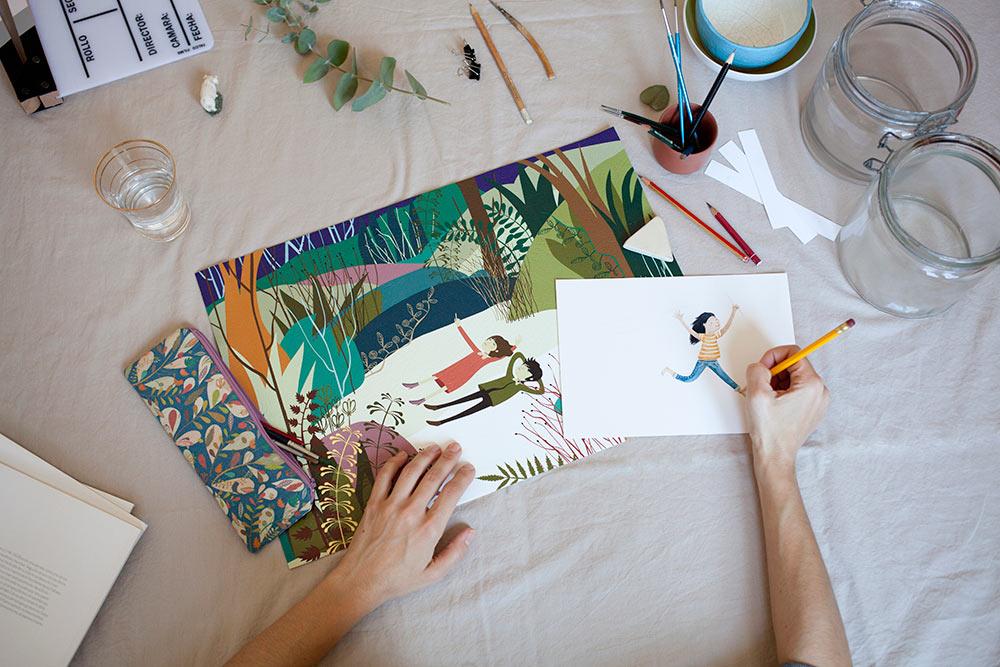 bodegon ilustración Cecilia Plaza