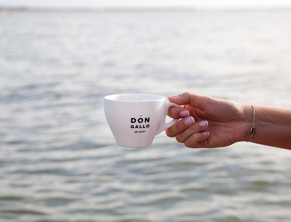 taza de café don gallo