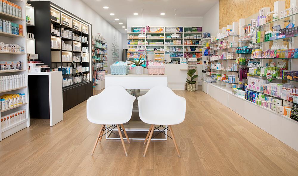 instalaciones de la farmacia del castillo