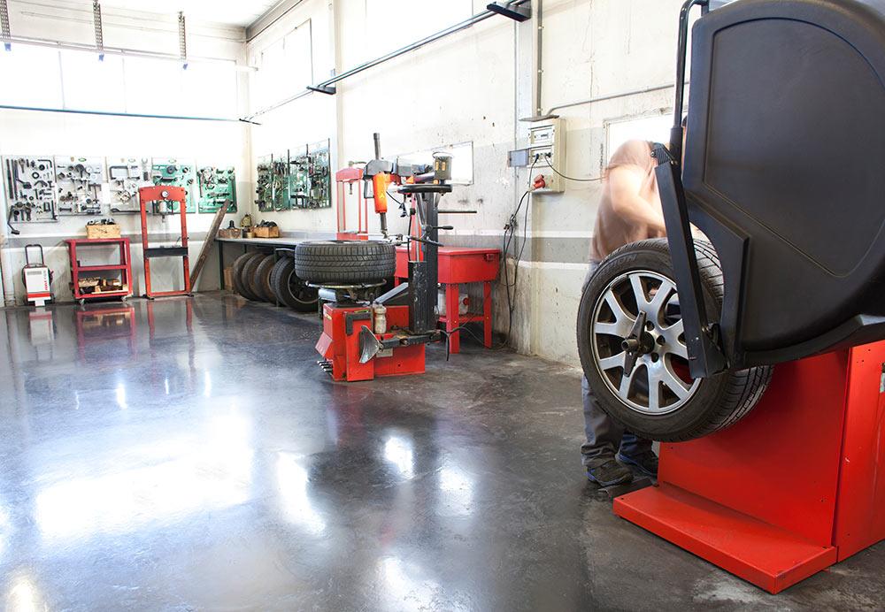 taller de reparación de coches