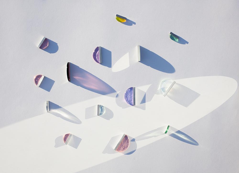 Bodegón creativo de cristales para sio2